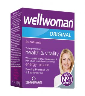 WELLWOMAN kapsulas, 30 gb.